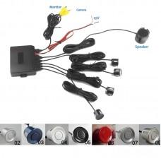 Kit senzori de parcare pentru camera video spate cu buzzer