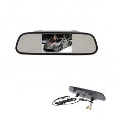 Oglinda retrovizoare cu display LCD 4.3