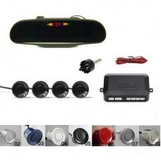 Kit senzori parcare spate cu display oglinda, avertizare sonora