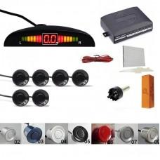 Kit senzori parcare fata spate cu display & avertizare sonora
