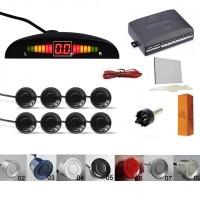 Kit senzori parcare fata spate 8s cu display & avertizare sonora