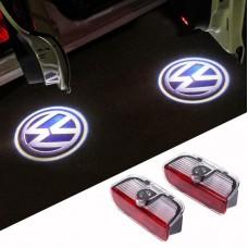 Lumini de usi LED Logo VW dedicate