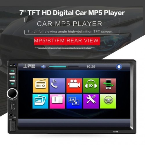 Radio MP3 DVD Player Auto Display 7